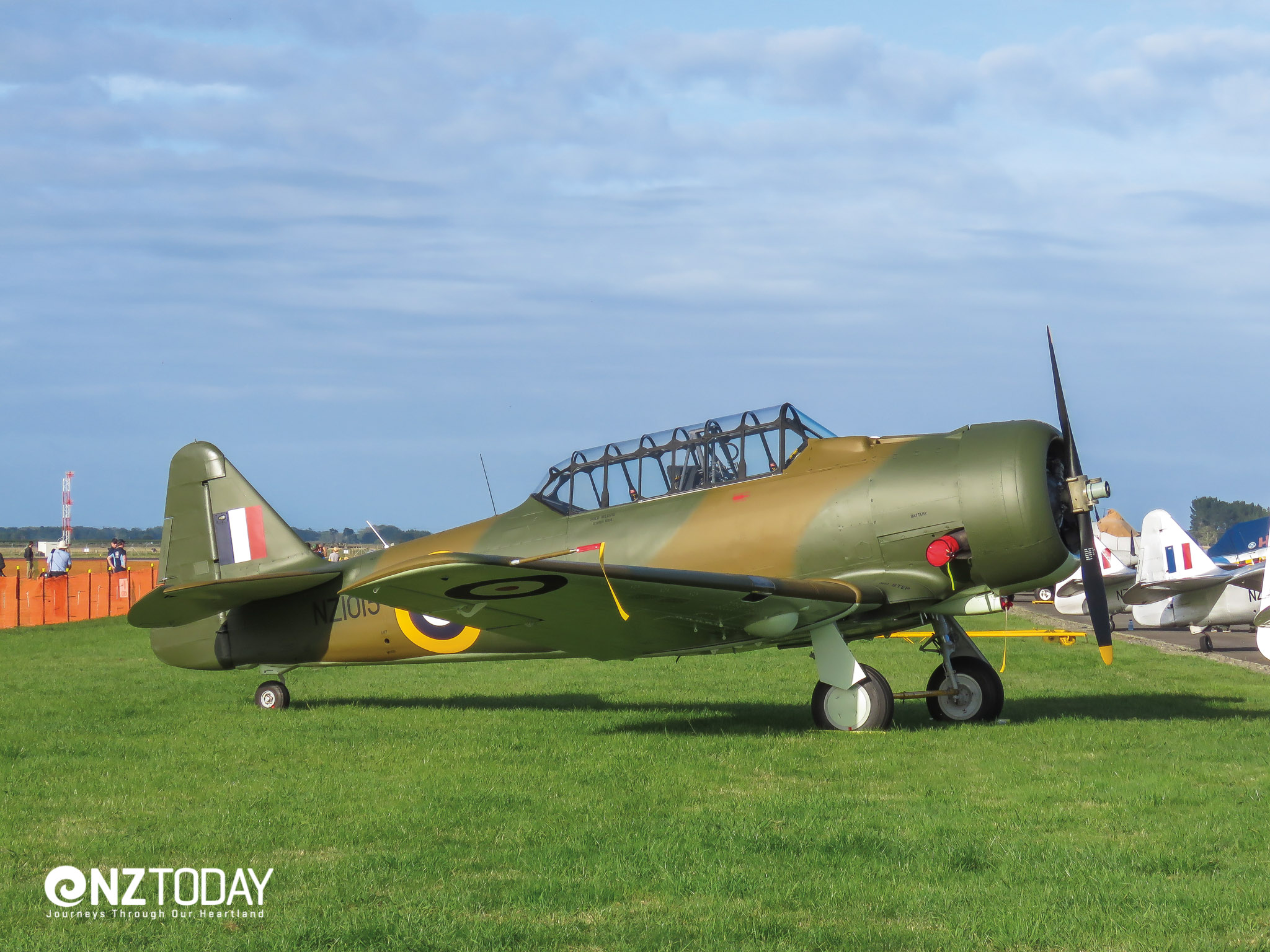 The former RNZAF training workhorse – the Harvard