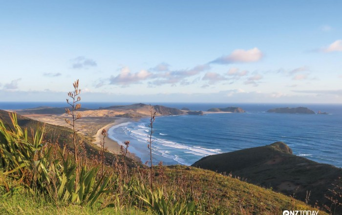 View of Cape Maria Van Diemen from Cape Reinga