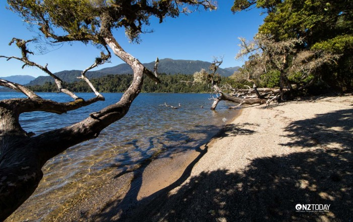 Seclusion and isolation – southern end of Bain Bay
