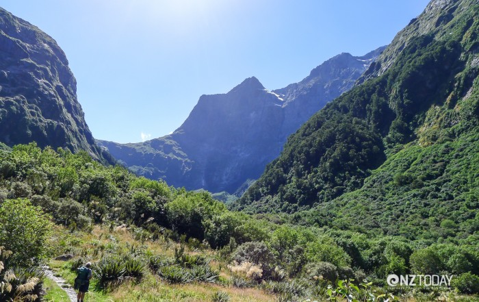 Mackinnon Pass from the Clinton Canyon
