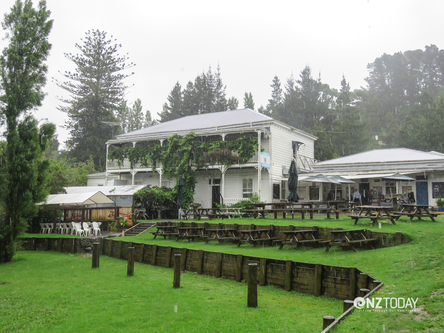 The historic Puhoi Hotel