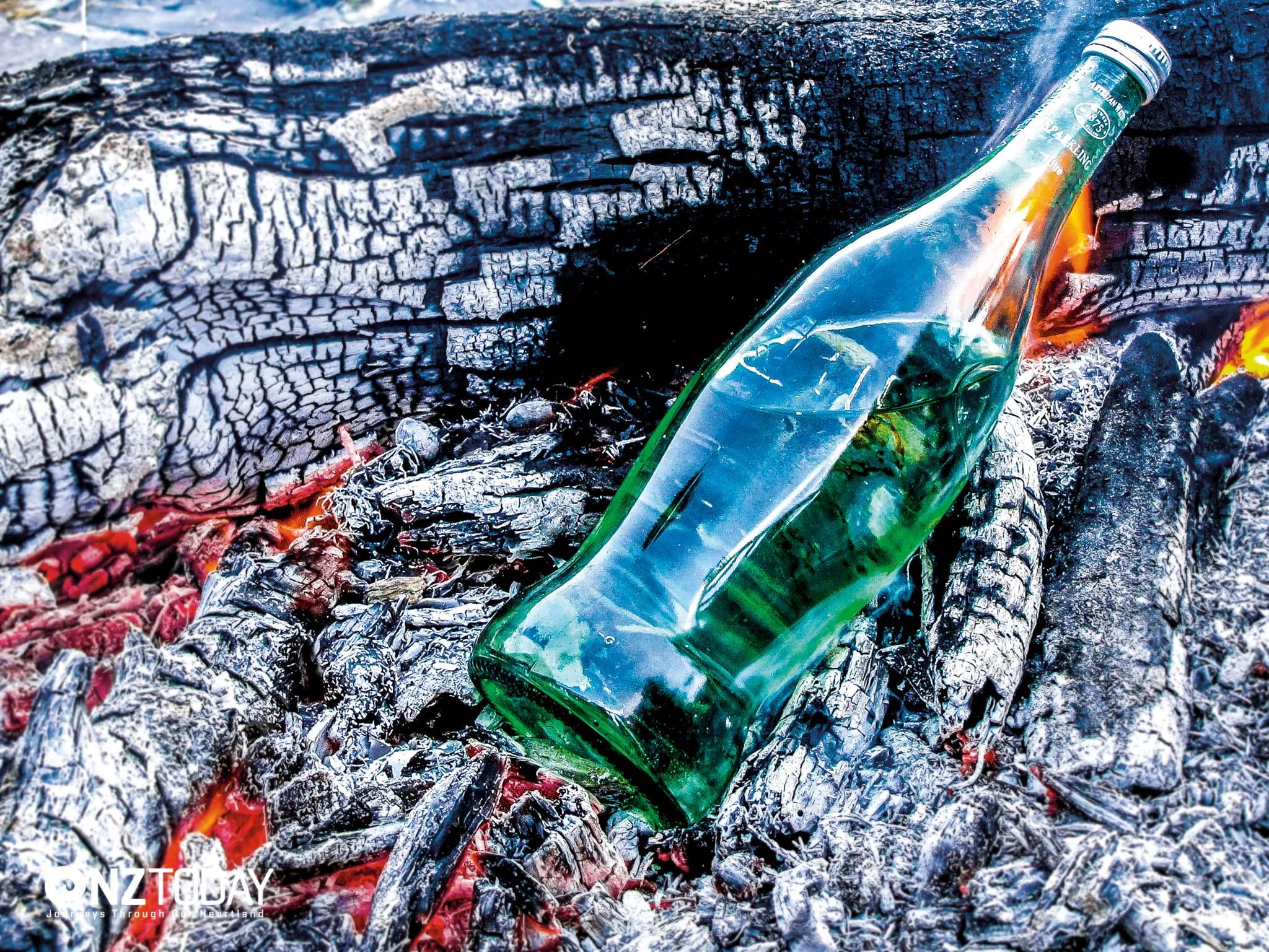 Waters Of New Zealand Inside The Bottle