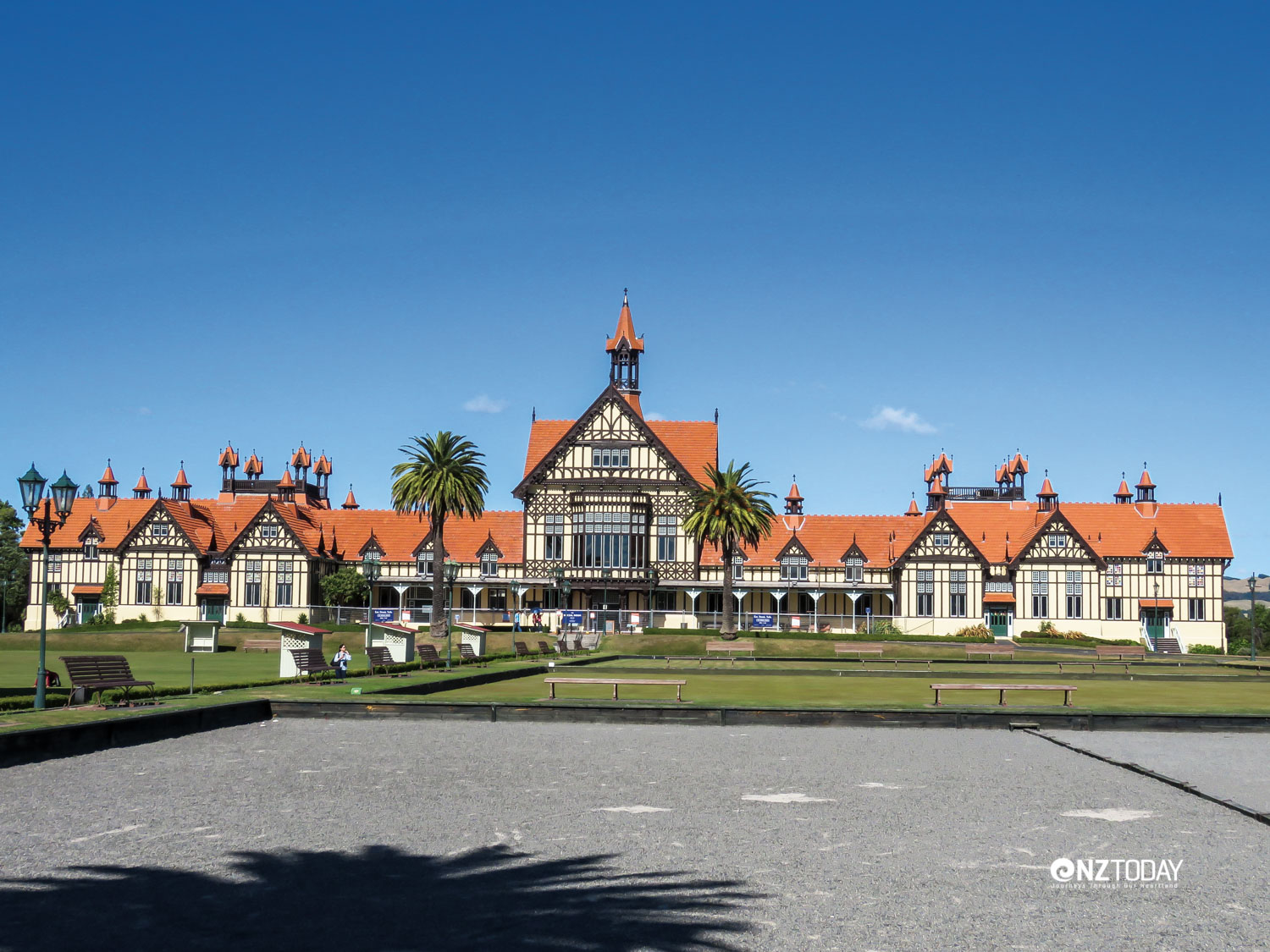 Rotorua's most famous building – no longer in use