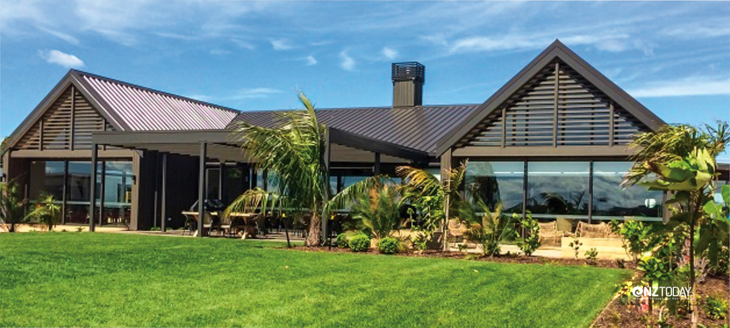 Freedom Village's Papamoa Sands complex provides a social hub for the village, and was designed to complement the nearby beach and the houses in the complex