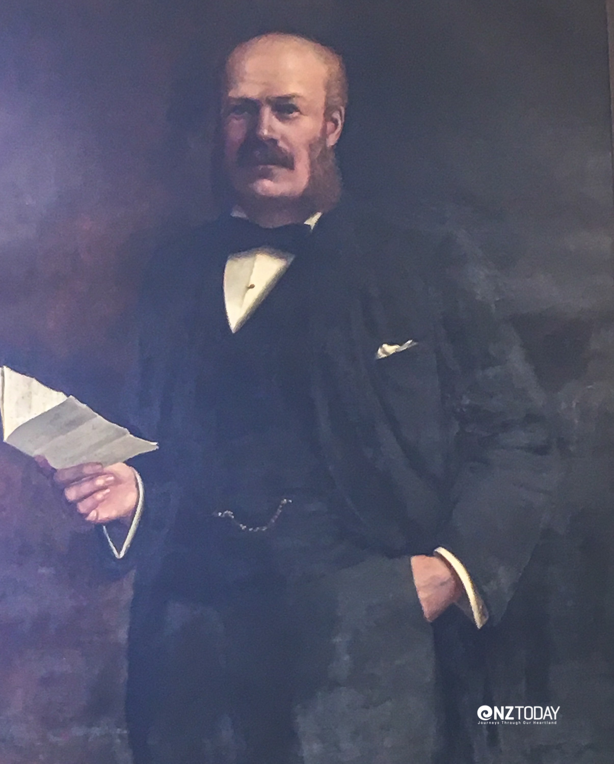 William Leys - who bequeathed the Leys Institute