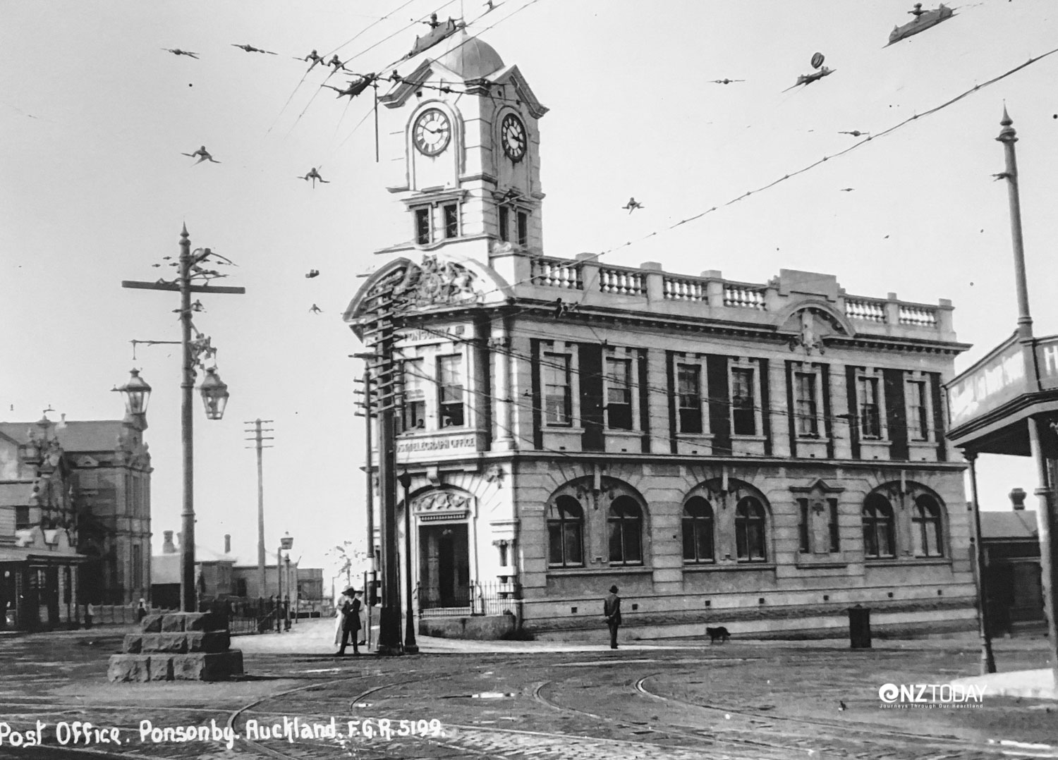 The Ponsonby Post Office in its heyday circa 1915