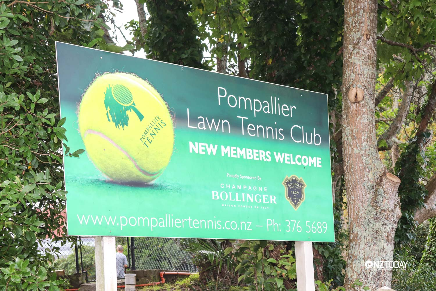 The old Bishop is still remembered in the name of the local tennis club