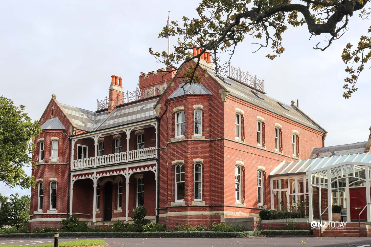 The Bishop's Palace - home of the Auckland Catholic Bishop