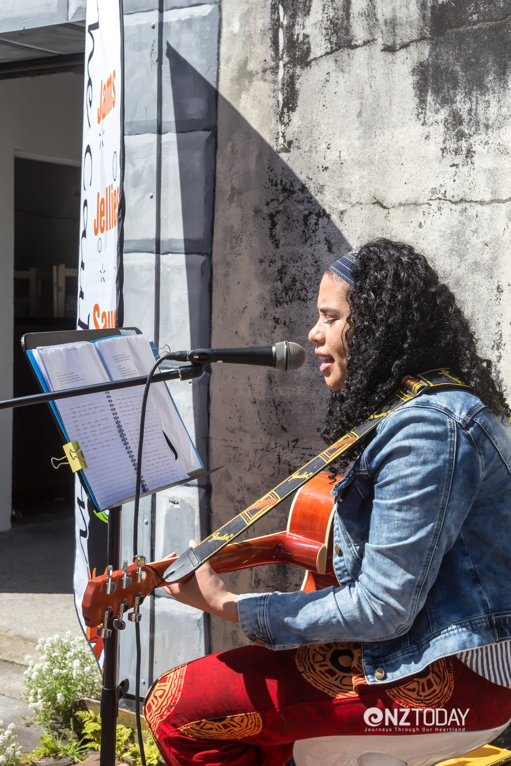 Live music at the Growers and Makers Market