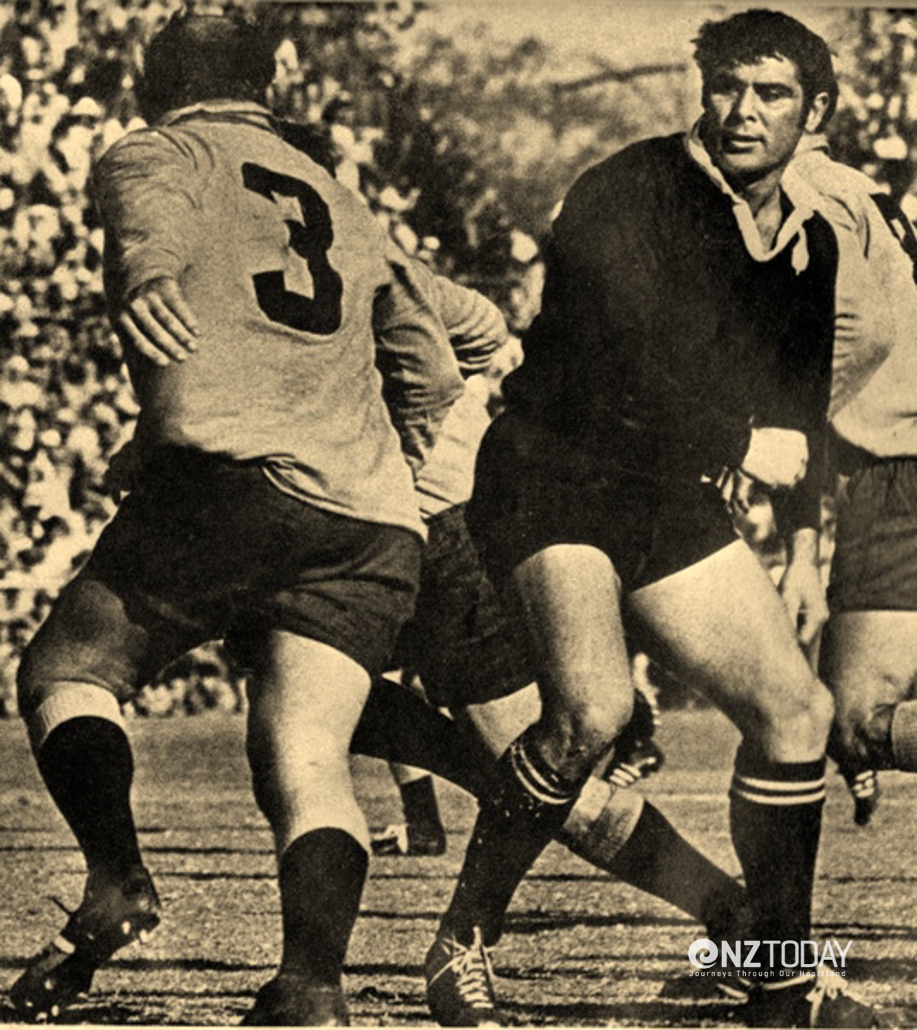 Make no mistake; Keith Murdoch stood for no nonsense on the field of play