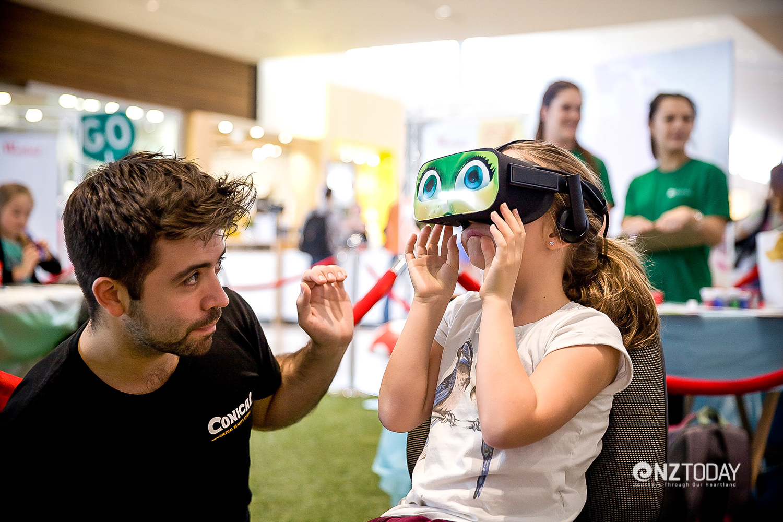 Virtual reality goggles are a portal into The Green Fairy adventure