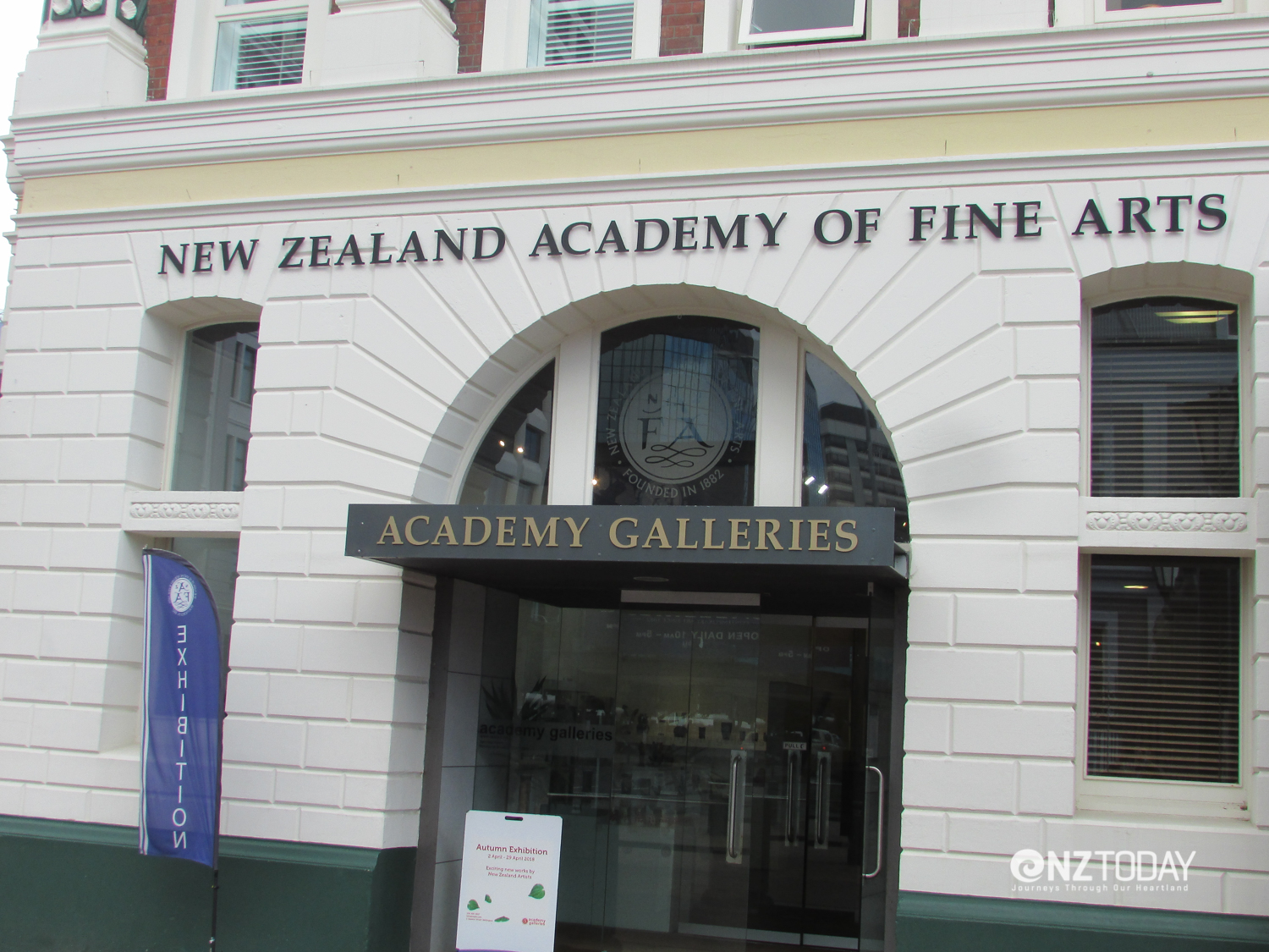 Academy of Fine Arts on the waterfront next to the Wellington Museum