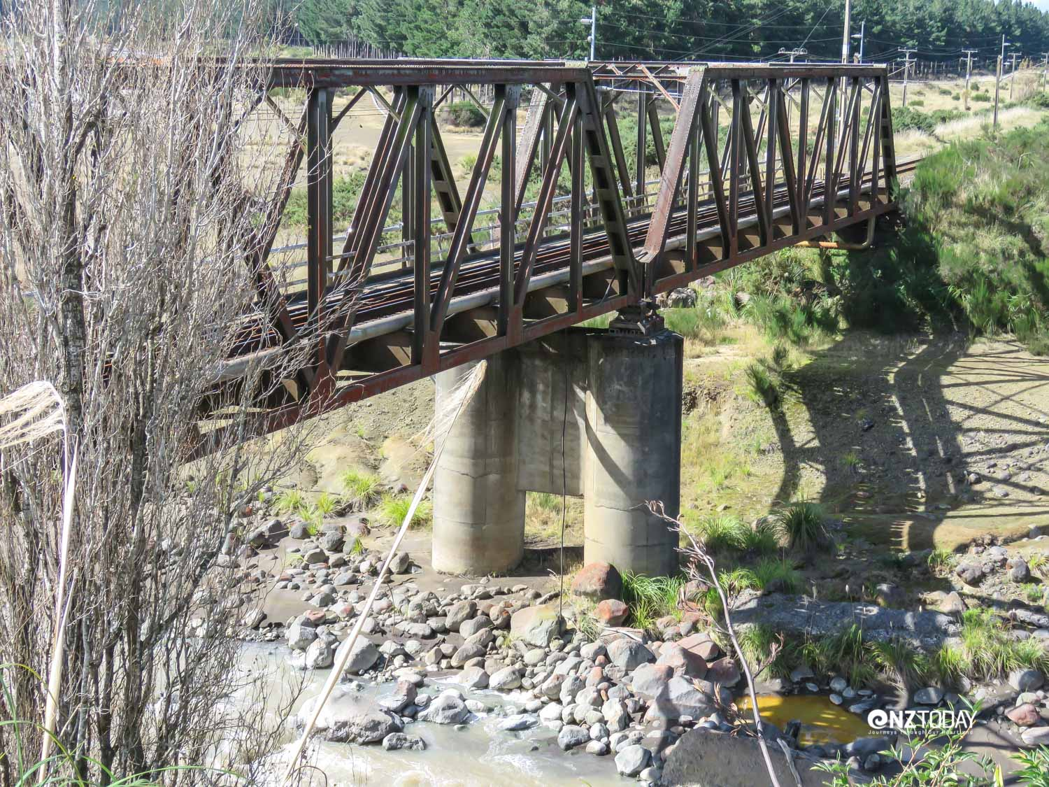 Tangiwai rail bridge today