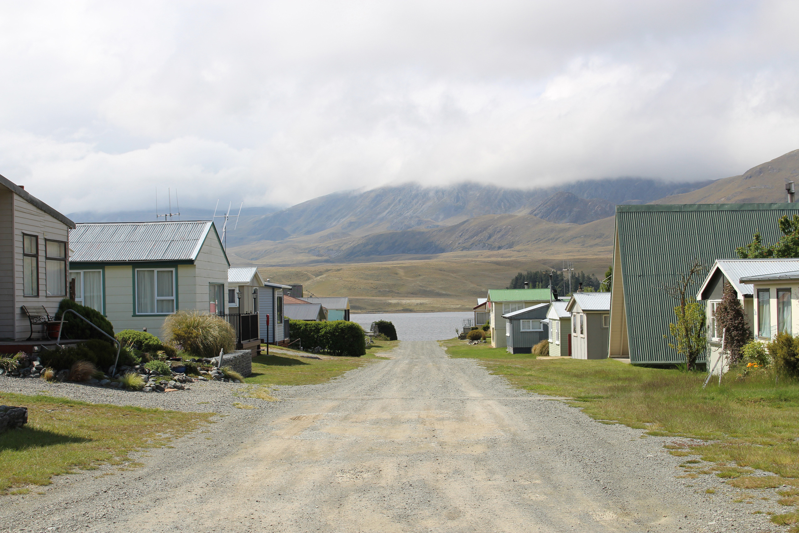 Lake Clearwater in the foothills of the South Alps – a typical New Zealand holiday village where there's lifestyle aplenty – a lot of 'chummery' but not much privacy