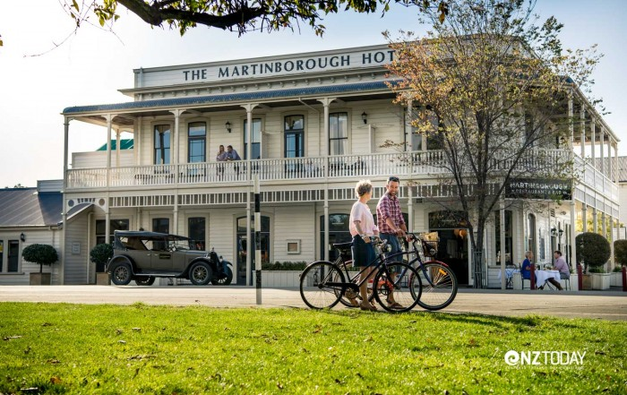 Cycling in Martinborough - Martinborough Hotel