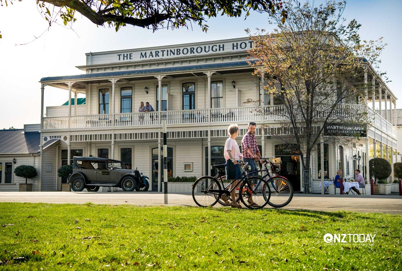 Cycling in Martinborough - Martinborough Hotel