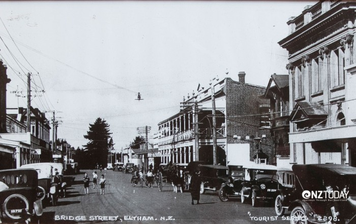 A view of historic Bridge Street Eltham