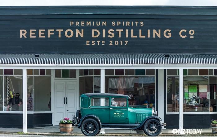 Distillery on Smith Street, Reefton with ModelA