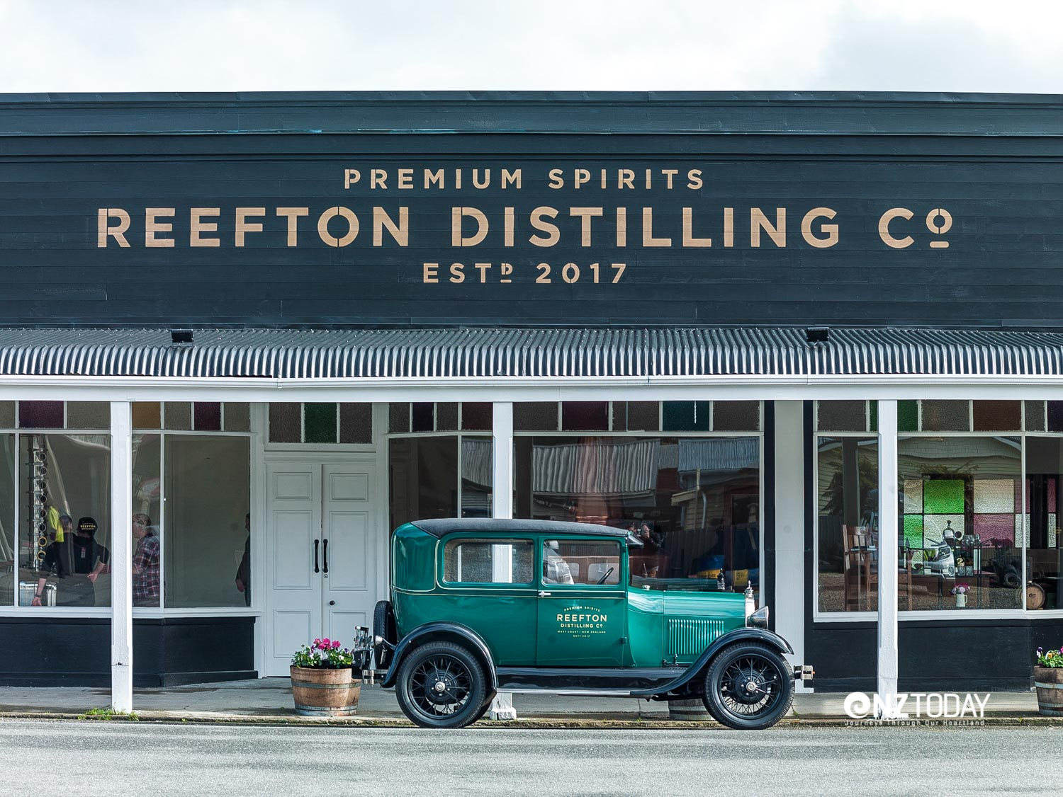 Distillery on Smith Street, Reefton with Model A